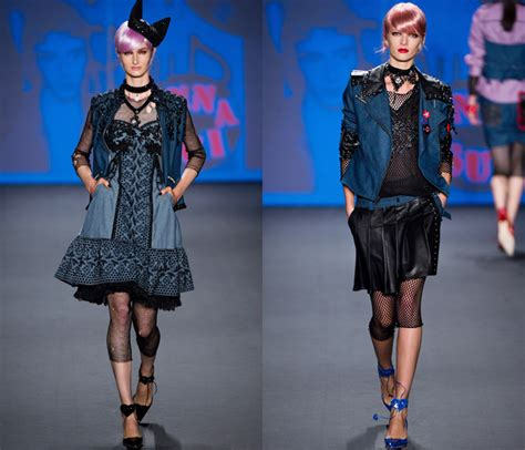 search results fashion style news trends paris fashion week the anna sui at new york fashion week fall winter 2012