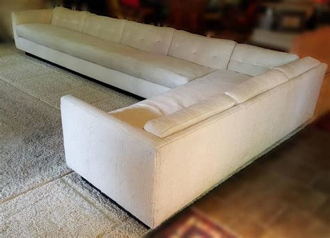 1970s filled sectional sofa designed by everett