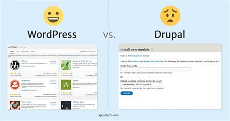 Drupal Theme Vs Module | wordpress vs drupal module installation