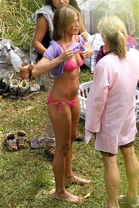 Aniston Slips Into A Pink For Day In The Sun by Aniston Pictures