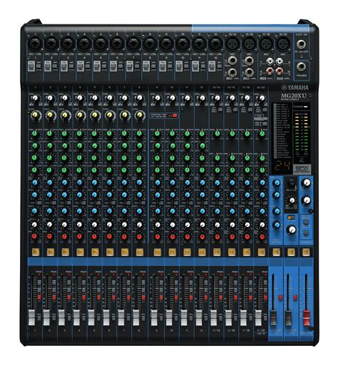 Mixer Analog Yamaha Mg20xu Mg 20xu Mg 20 Xu Mg 20xu yamaha mg20xu analog 20 channel mixing console all pro sound