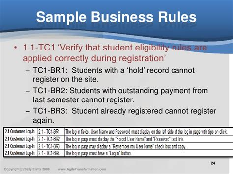 templates for business rules what is just enough documentation in agile