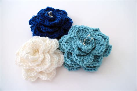 crocheted floral headband 183 how to stitch a knit or two hour crocodile stitch flower allfreecrochet