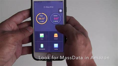 iphone external storage massdata ieasydrive usb drive for iphone in best iphone external storage