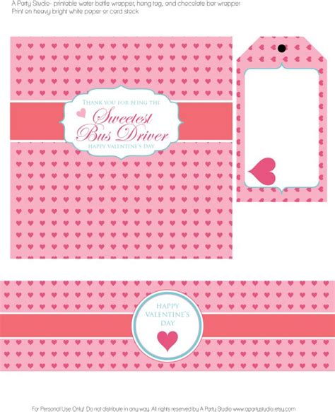 printable valentine tags for teachers free valentine s day printable chocolate bar wrapper