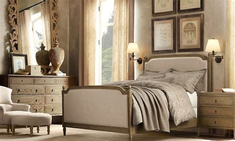 restoration hardware bedroom sets restoration hardware vienne bed vienne panel queen bed