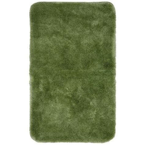 sage green bathroom rugs mohawk home regency sage green 24 in x 40 in bath rug