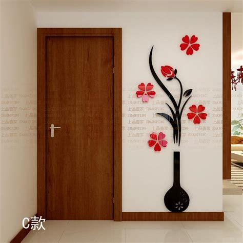 Vase Suppliers Aliexpress Com Buy New Fashion Plum Vase 3d Wall
