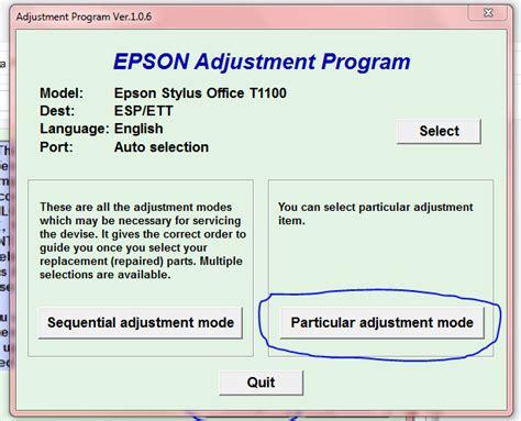 cara mereset printer epson t1100 download resetter dan cara penggunaan resetter printer