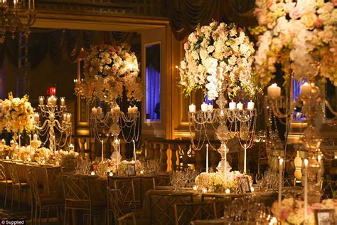 Cake Designs For Wedding Receptions by Inside The World S Most Extravagant Weddings With Million