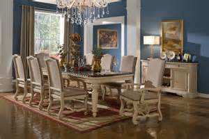 the descanso white wash formal dining room collection 15395
