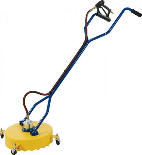 Industrial Patio Cleaner by Rotary Cleaning 18in 457mm Castors 2 Jets