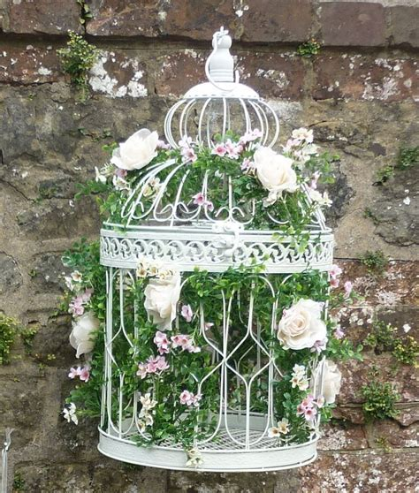 175 best images about Bird Cages on Pinterest   Shabby