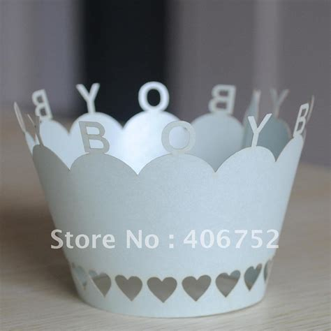 new born baby theme quot boy quot cupcake wrapper moq 300ocs from yoyo in cake decorating supplies from