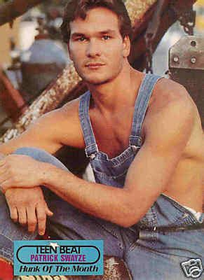 Havier Overall Bd swayze pinup shirtless in overalls