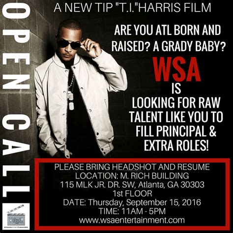 open casting film indonesia 2016 open auditions for speaking roles in upcoming t i harris