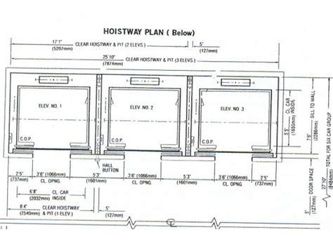 Beam Plans Elevators And Escalators