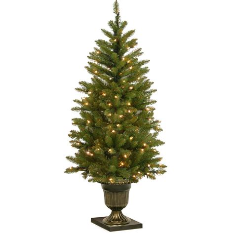 dunhill artificial tree corporation national tree company 4 ft dunhill fir entrance artificial tree with clear lights