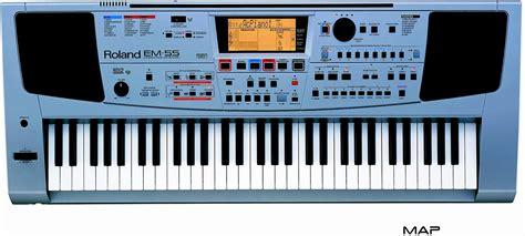 Keyboard Roland Em55 roland em55 61 key interactive keyboard zzounds
