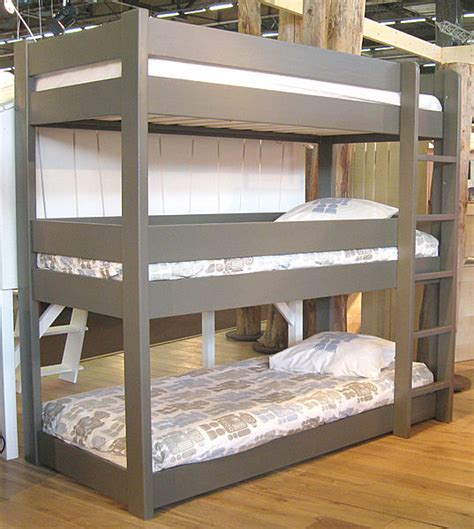 Three Bunk Bed Design Bunk Beds