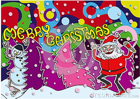 merry christmas crazy card royalty  stock images image