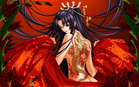 anime tattoo girl wallpaper japanese dragon wallpaper 52 images