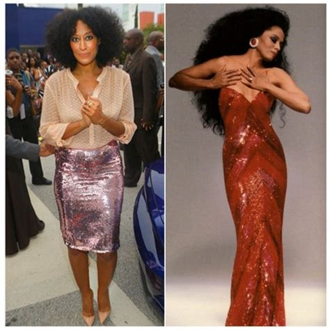 tracee ellis ross and diana ross sequins pynk style guide for wearing sequins think pynk