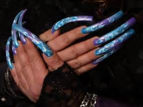 inspired ambitions awesome nail art long nails