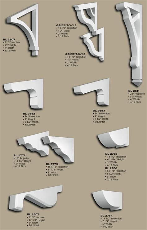 Extreme Makeover Home Edition by Polyurethane Angled Eave Brackets
