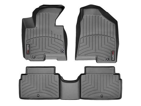 2012 kia sportage weathertech floorliner custom fit car floor protection from mud water sand