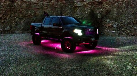 underglow lights for lifted trucks awesome underglow truck parts