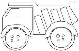free truck coloring page printable dump truck coloring pages for cool2bkids