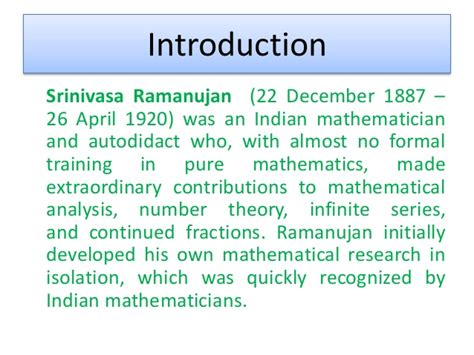 an introduction to the theory of infinite series classic reprint books works of ramanujan