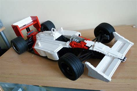 How To Make A F1 Car Out Of Paper - this lego mclaren mp4 4 is for sale