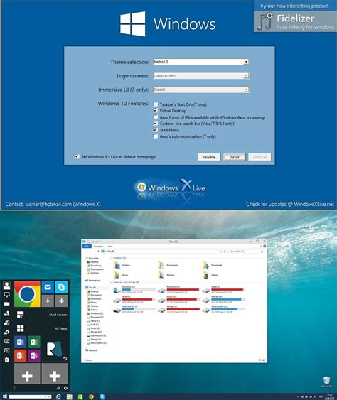 ux themes for windows 10 windows 10 ux pack 4 5 by windowsx on deviantart