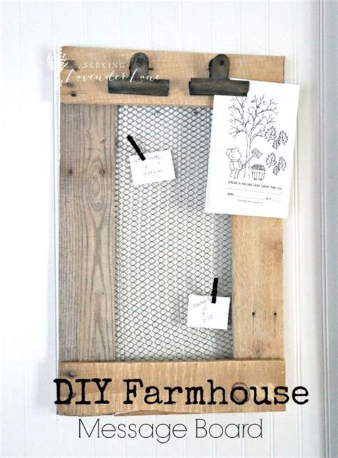 home design message board 41 genius rustic decor ideas made with chicken wire