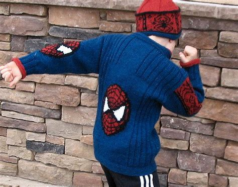 free knitting pattern of spiderman the huge list of free knitting patterns for boys little
