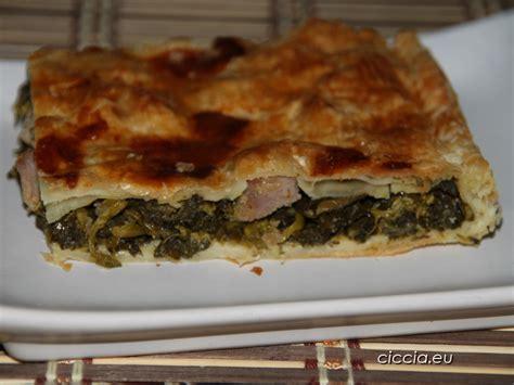 Pizza Base D 27cm torta salata con cime di rapa e salsicce ricette di cucina