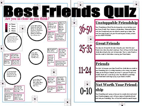 best friend quiz bossip best friend quiz