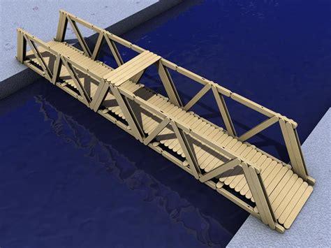 imagenes de puentes hechos de palitos puente ecol popsicle stick bridge abatelenguas puentes y maquetas