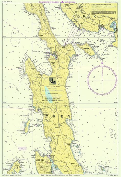 maps c croatian nautical maps vakance charter
