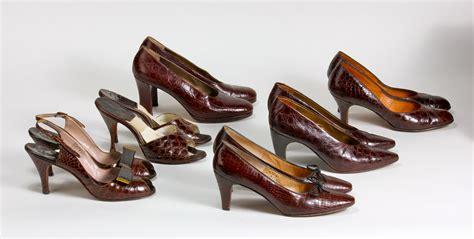 vintage shoes 171 violette