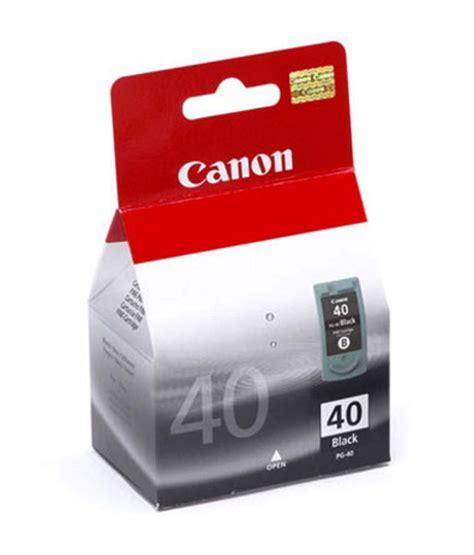 Terlaris Cartrigde Canon 40 Black canon pg 40 black ink cartridge black buy canon pg 40 black ink cartridge black at