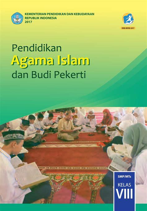 kelas  smp pendidikan agama islam  budi pekerti siswa