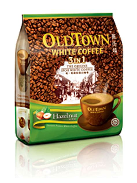 White Coffee oldtown white coffee 3 in 1 hazelnut white coffee white coffee market malaysia