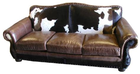 cow leather sofa rustic cowhide sofas rustic sofas couches we beat free