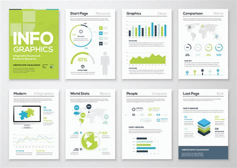Infographic Brochure Template free infographic brochure template design3edge