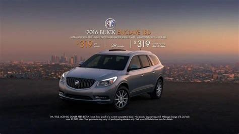 buick commercial actress tina 2016 buick enclave tv spot inside tina s new buick