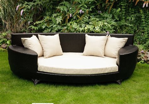 outdoor sofa bed china cane furniture with aluminum tube modern sofa bed