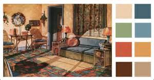 1928 sun room 1920s warm color scheme 1928 armstrong
